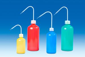 Vitlab 132706 Wash Bottles Yellow PE-LD/PP