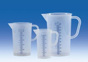 Vitlab 442081 Graduated beakers PP Vol 1000 ml