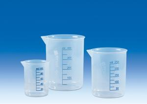 Vitlab 610081 Griffin beakers PP Vol 250 ml