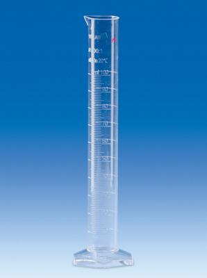 Vitlab 65304 Measuring Cylinder PMP Class A Vol 2000 ml