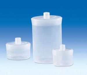Vitlab 80345 Weighing jars PP 50 ml
