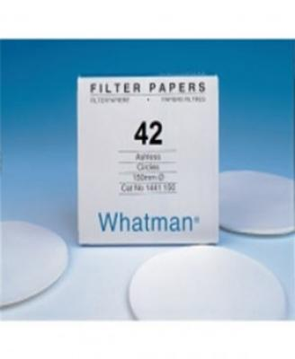 Whatman 1442-125 Grade 42 Circles, 125mm 100/pk