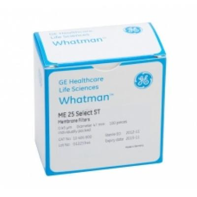 Whatman 7140-104 WME Mixed Cellulose Ester Membrane Filter,0.45µm 47mm 100/pk