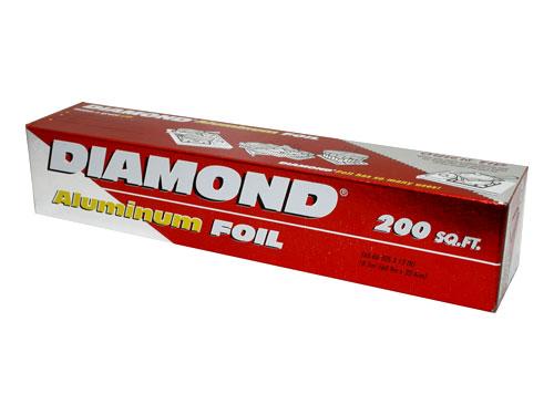 Diamond Aluminium Foil L 45 cm
