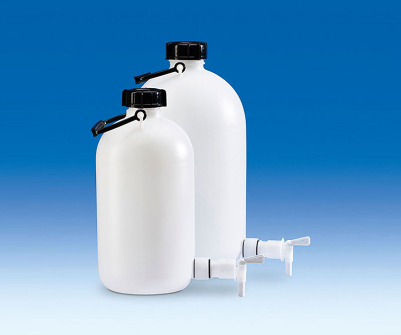 Vitlab 81664 Storage bottles PE-HD 25 L with tap